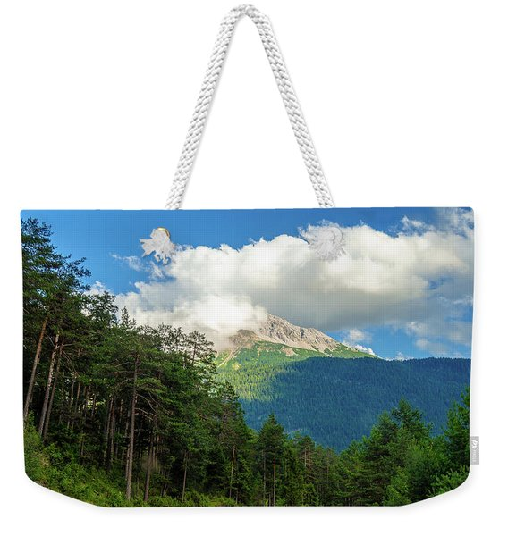 It's Cloudy Up In Here Weekender Tote Bag