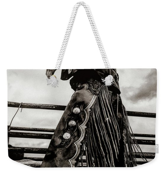 Its The Boots And The Chaps Weekender Tote Bag