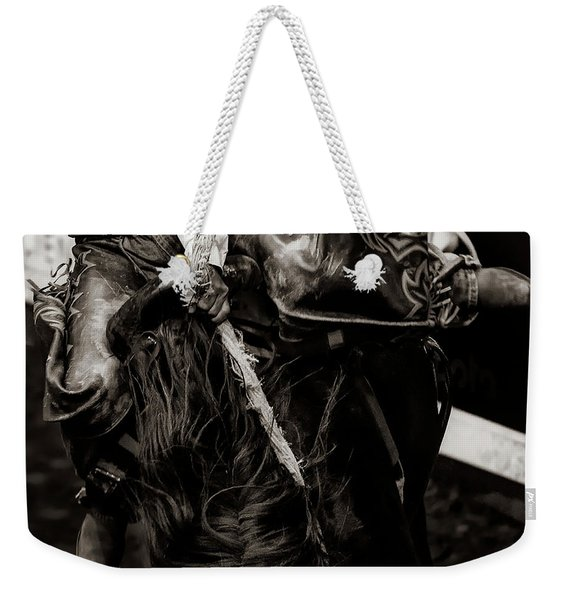 Its The Ropoe And The Reins Weekender Tote Bag