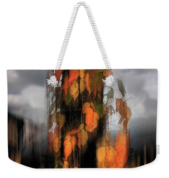 Weekender Tote Bag featuring the photograph Ivy Dreams by Wayne King