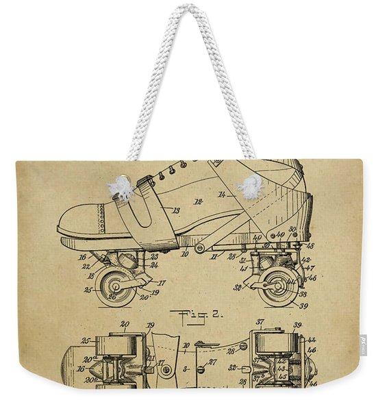 J. L. Plimpton, Roller Skate, Patented Dec.8,1908. Weekender Tote Bag