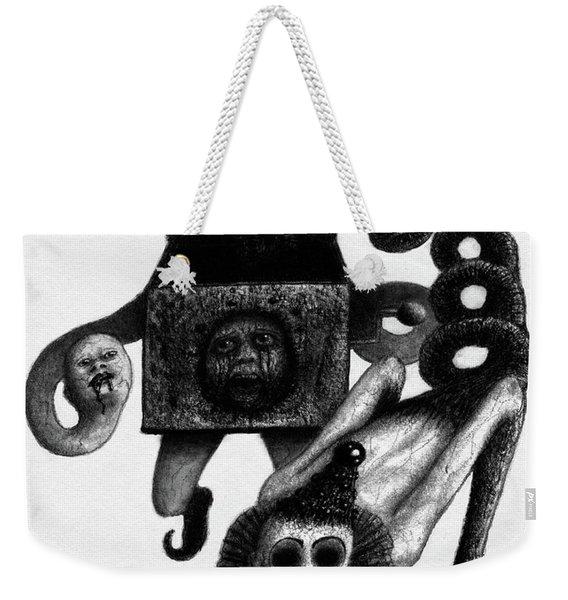 Jack In The Box - Artwork Weekender Tote Bag