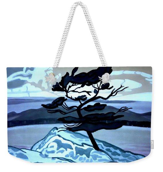 Jack Pine Weekender Tote Bag