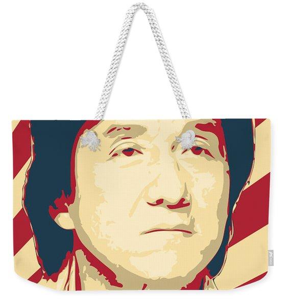 Jackie Chan Retro Propaganda Weekender Tote Bag