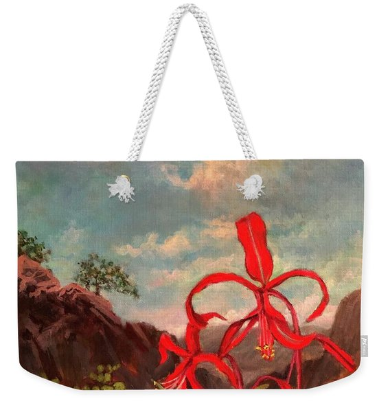 Jacobean Lily Of Mexico Weekender Tote Bag