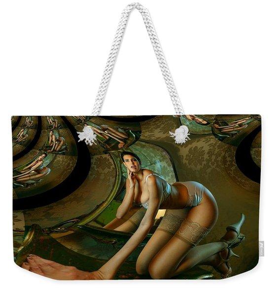 Jade Forest Weekender Tote Bag
