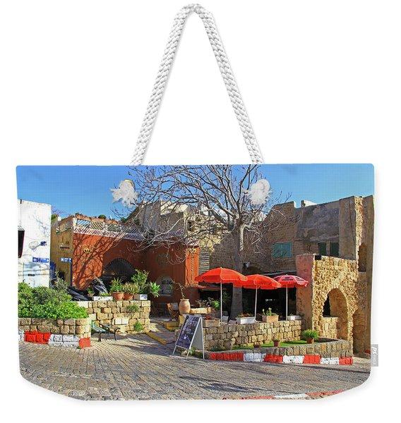 Jaffa, Israel Weekender Tote Bag