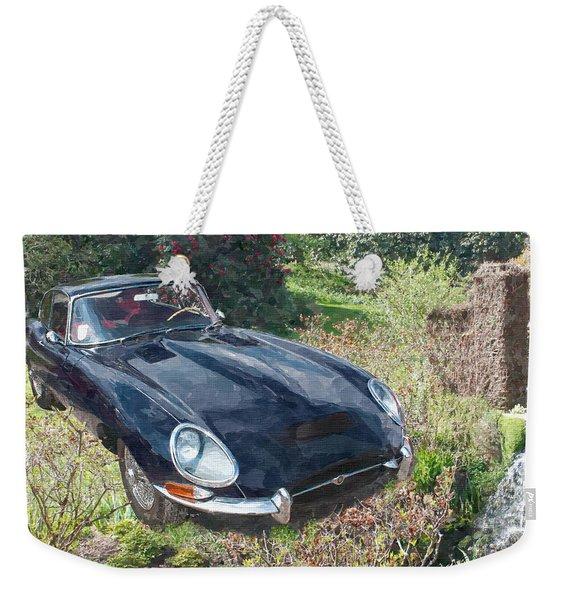 Jaguar E Type Weekender Tote Bag