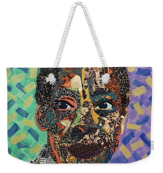 James Baldwin The Fire Next Time Weekender Tote Bag