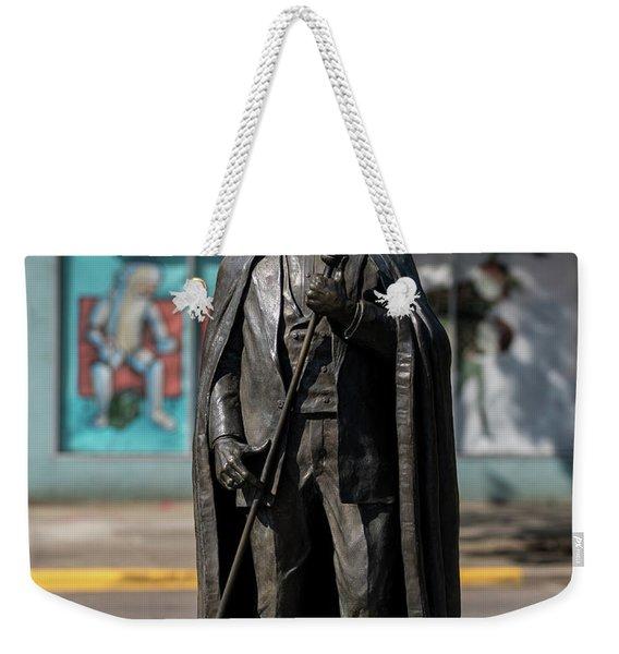 James Brown Statue - Augusta Ga 2 Weekender Tote Bag