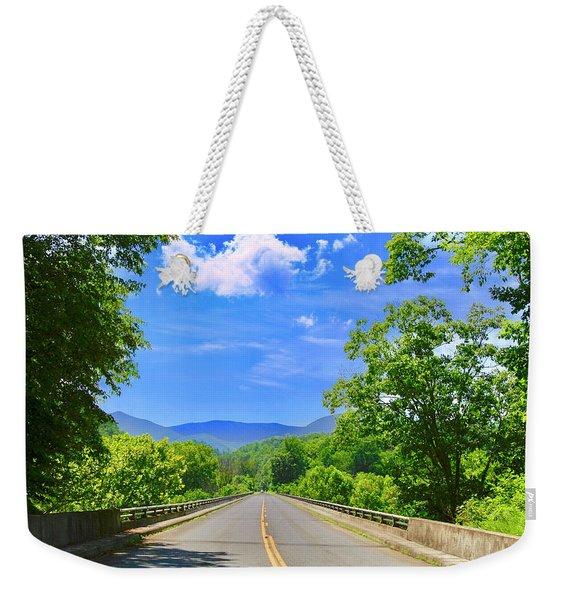 James River Bridge, Blue Ridge Parkway, Va. Weekender Tote Bag