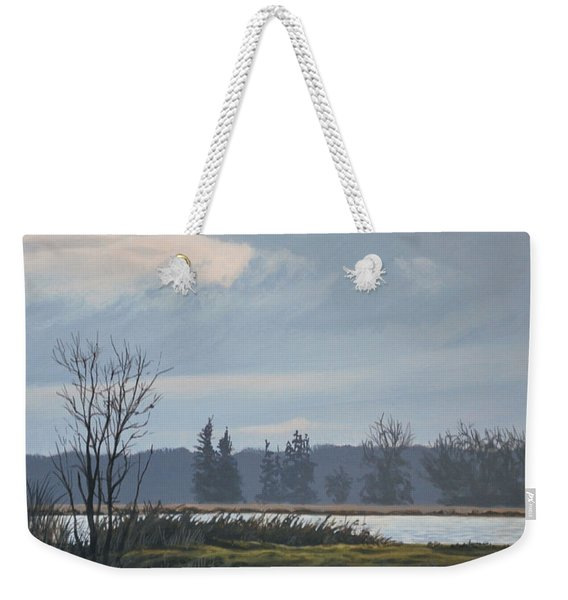 January Skies Weekender Tote Bag