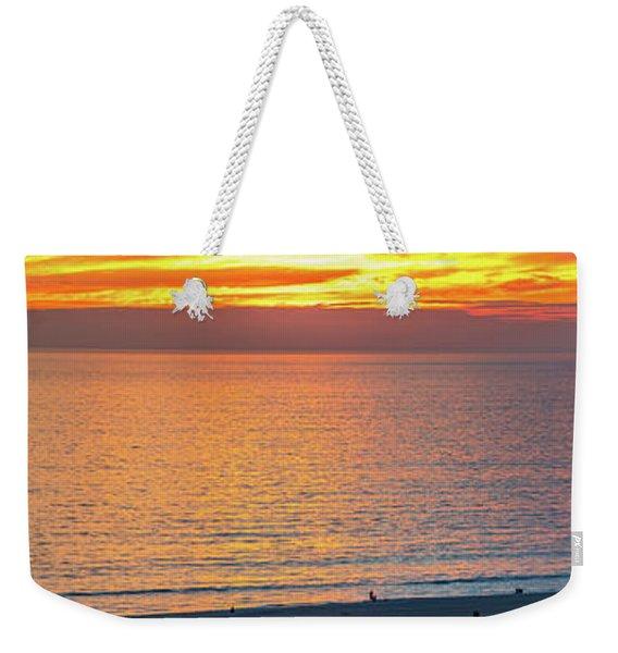 January Sunset - Vertirama Weekender Tote Bag
