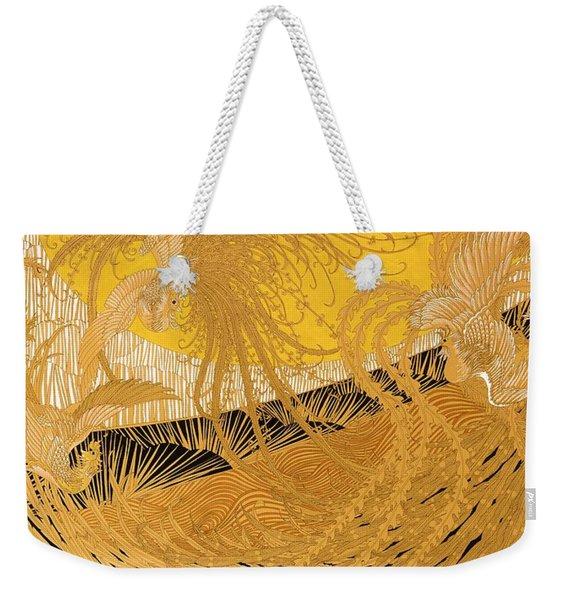 Japanese Modern Interior Art #140 Weekender Tote Bag