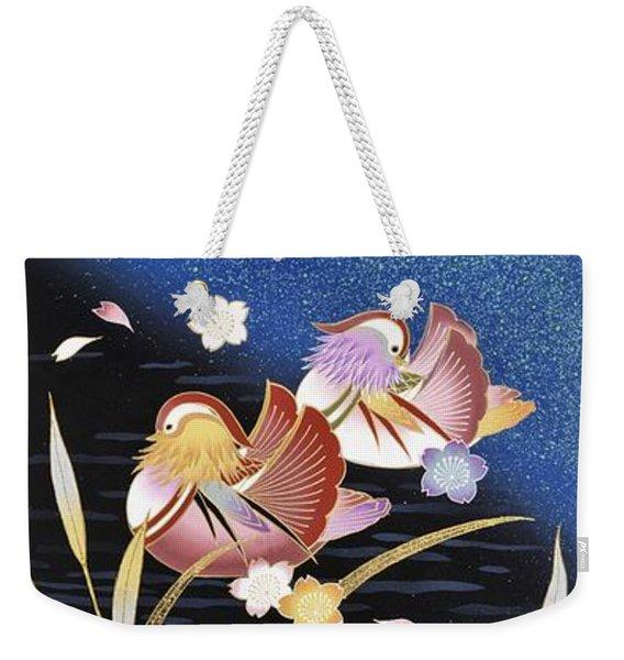 Japanese Modern Interior Art #161 Weekender Tote Bag
