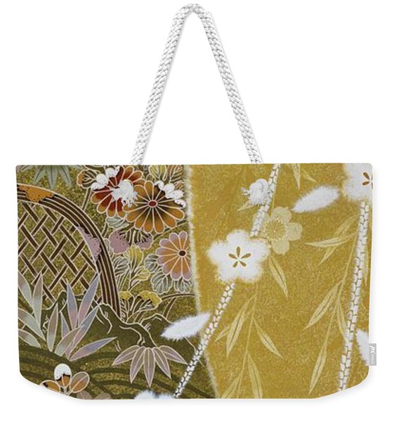 Japanese Modern Interior Art #163 Weekender Tote Bag