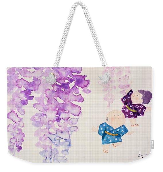 Japanese Modern Interior Art #25 Weekender Tote Bag