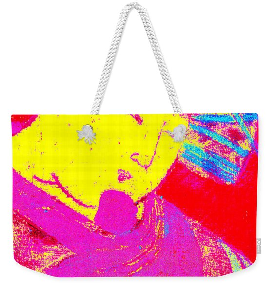 Japanese Pop Art Print 9 Weekender Tote Bag