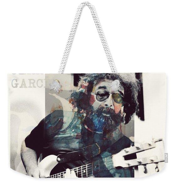 Jerry Garcia - Retro  Weekender Tote Bag