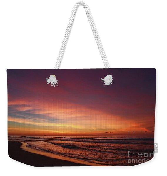 Jersey Shore Sunrise Weekender Tote Bag