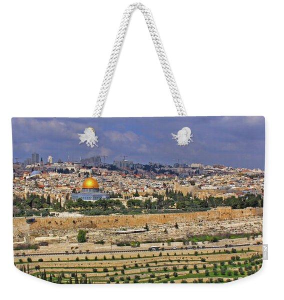 Jerusalem, Israel - Old City Walls Weekender Tote Bag