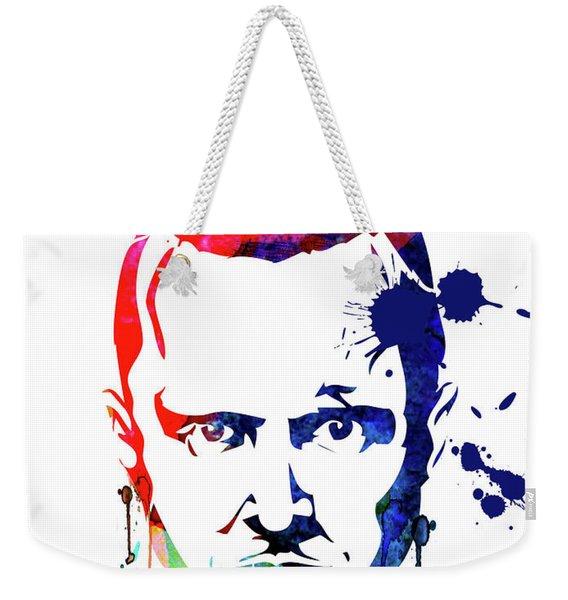 Jesse Watercolor Weekender Tote Bag
