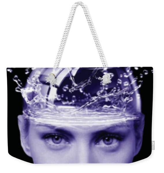 Jestful Water Drops  Weekender Tote Bag