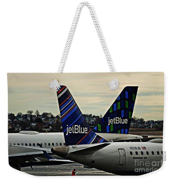 Jetblue Crossing   Weekender Tote Bag