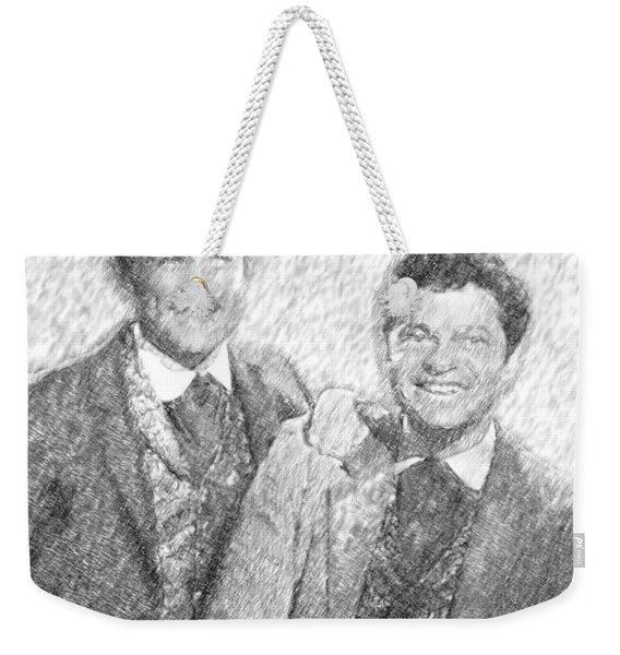 Jim And Artimus Weekender Tote Bag