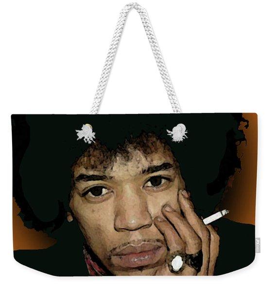 Jimi Hendrix 5 Weekender Tote Bag
