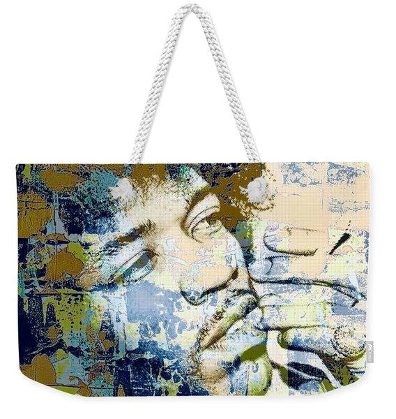 Jimi Soul Weekender Tote Bag