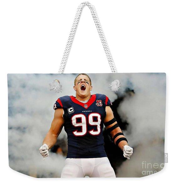 Jj Watt Weekender Tote Bag