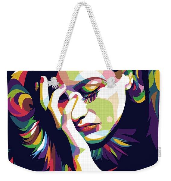 Joan Crawford Weekender Tote Bag