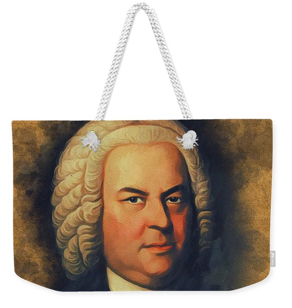 Johan Sebastian Bach, Music Legend Weekender Tote Bag