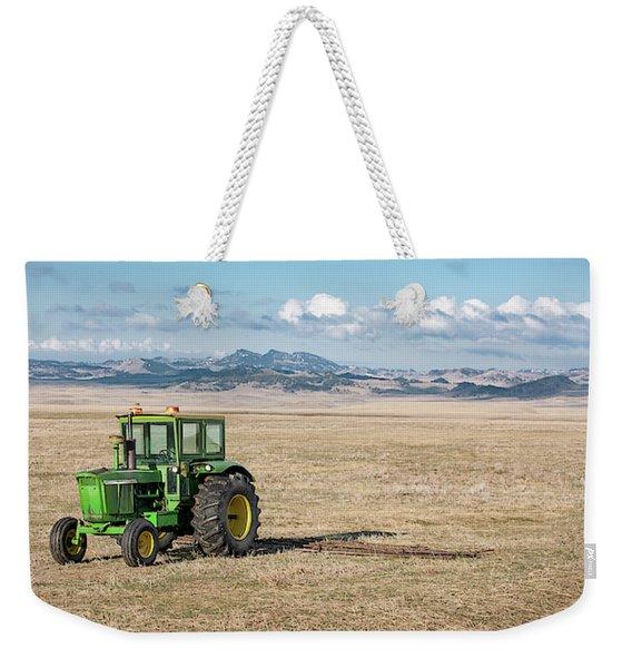 John Deere 4020 Weekender Tote Bag