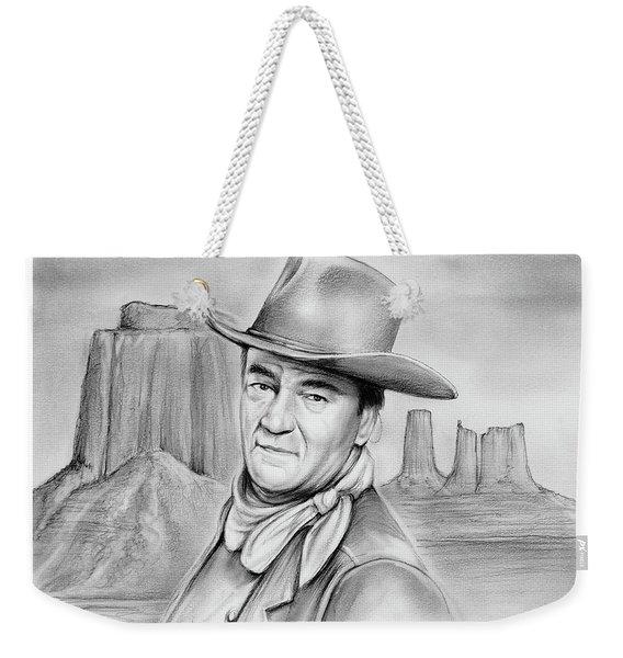 John Wayne 07oct18 Weekender Tote Bag