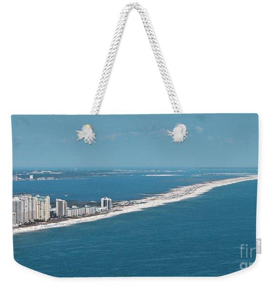 Johnson Beach Weekender Tote Bag