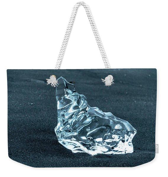 Jokulsarlon Diamond Weekender Tote Bag