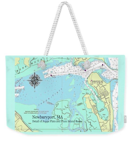 Joppa Flats Map Weekender Tote Bag
