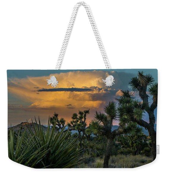 Joshua Tree Thunder Weekender Tote Bag