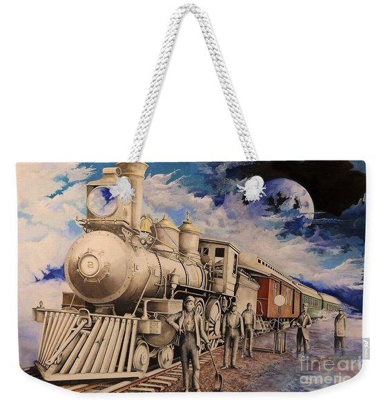 Journey Through The Mists Of Time Weekender Tote Bag