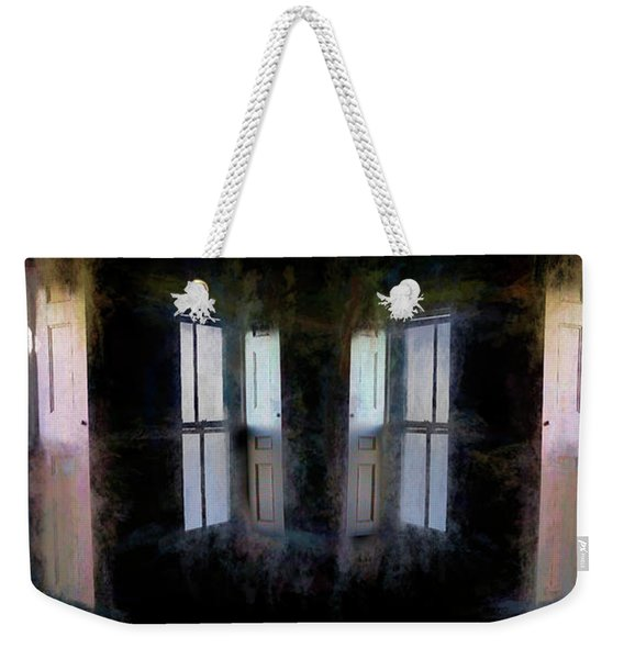 Weekender Tote Bag featuring the photograph Journey To Oz by Wayne King
