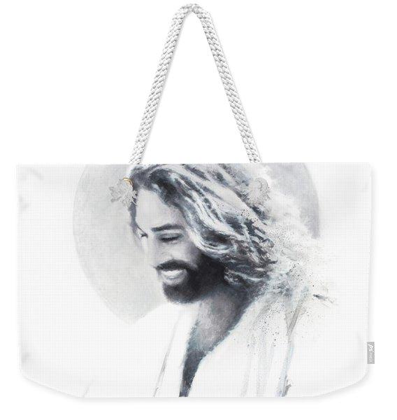 Joy Of The Lord Vignette Weekender Tote Bag