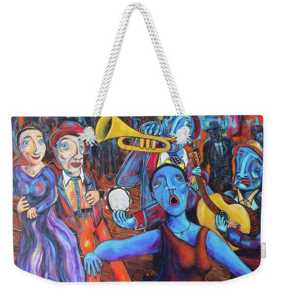 Juke Joint Weekender Tote Bag