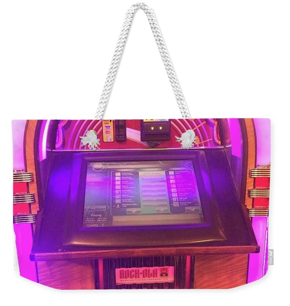 Jukebox Hero Weekender Tote Bag