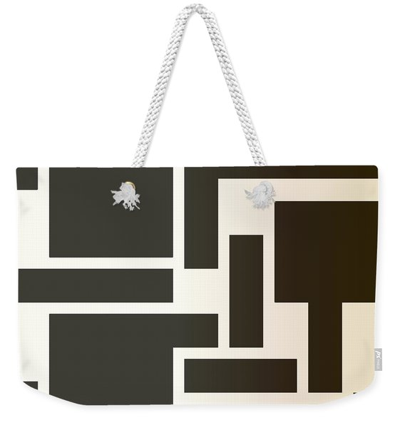 Julije Knifer Tribute Weekender Tote Bag