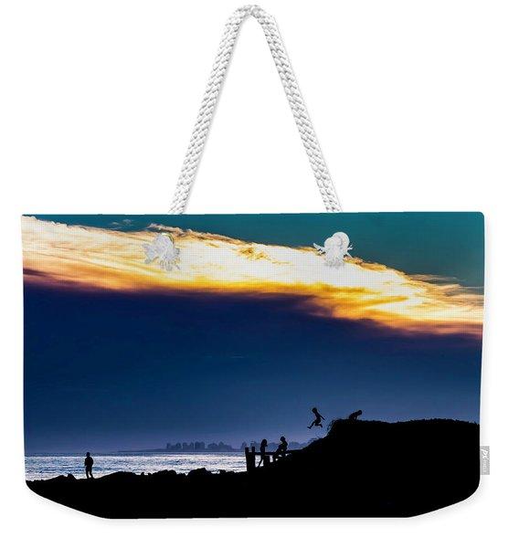Jump Weekender Tote Bag