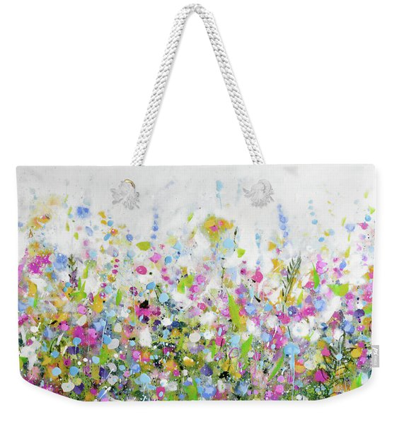 June Bloom Weekender Tote Bag