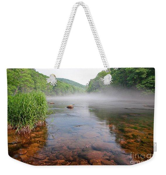 June Morning Mist Weekender Tote Bag