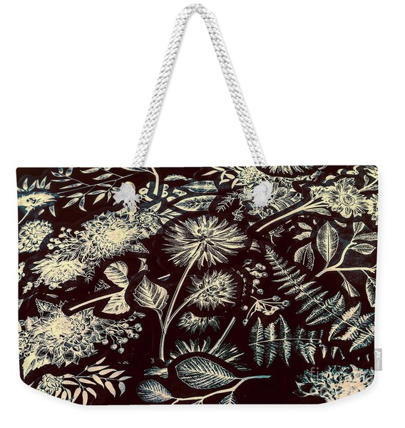 Jungle Flatlay Weekender Tote Bag